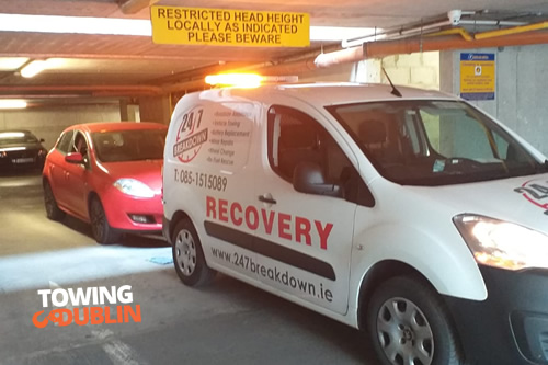Car Park Emergency Towing Dublin